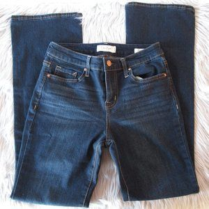 Jessica Simpson Mid Rise Boot Cut Blue Jeans 4/27